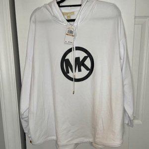 Michael Kors Women's Plus Size MK Logo Hooodie